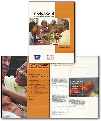 American Cancer Society Brochures: Glennon Design Group